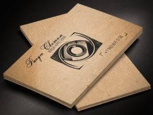 Визитки для фотографов 4