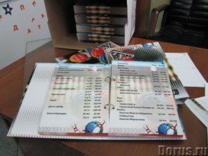 Папки для меню на заказ