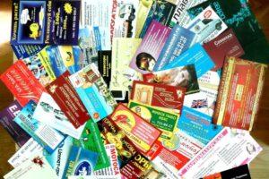 Изготовление 1000 визиток