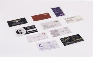 Заказать цифровую печать визиток