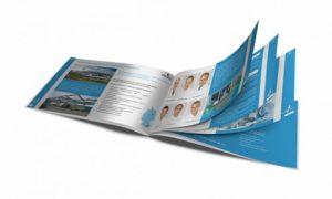 Изготовление каталогов на скрепке