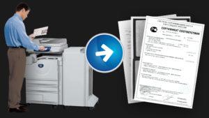 Заказать размножение документов