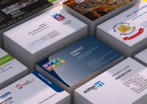 Офсетная печать визиток в Москве