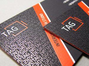 Печать визиток на бумаге «Тач Кавер»