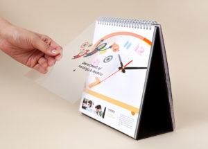 Календари-домики на заказ