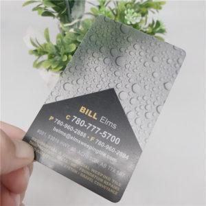 Печать прозрачных визиток