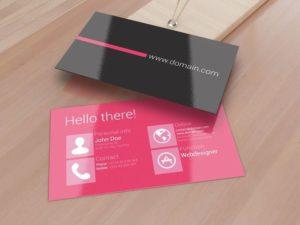 Изготовление ламинированных визиток