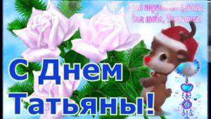 Печать открыток на Татьянин день