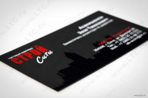 Заказать визитки на бумаге «Тач Кавер»
