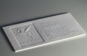 Печать визиток с конгревом