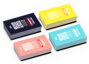Цветные визитки фото