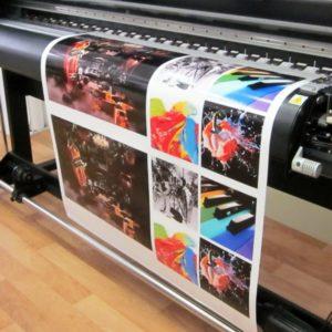 Широкоформатная печать на холсте фото