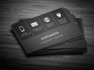 Дизайн визиток корпоративных компаний