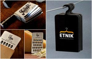 Дизайн необычных визиток
