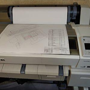 Изготовление чертежей А0