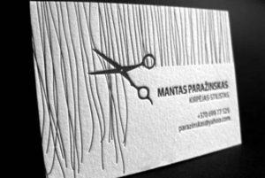 Заказать дизайн визиток для парикмахеров