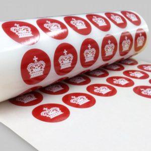 Заказать самоклеющиеся наклейки