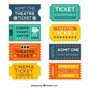 Цветные билеты в Москве