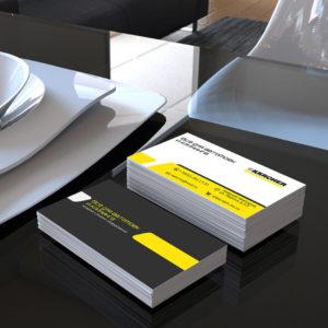 Заказать разработку дизайна визиток
