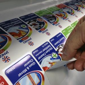 Цифровая печать наклеек в Москве