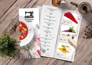 Дизайн меню в Москве