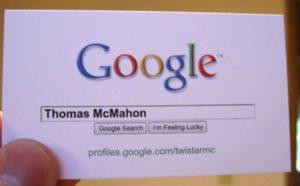 Дизайн креативных визиток
