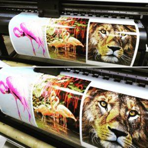 Заказать цифровую печать наклеек