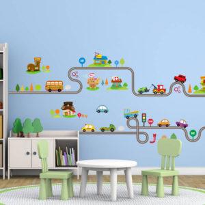 Заказать наклейки в детскую комнату