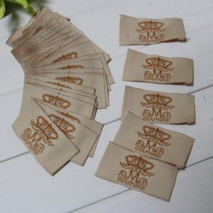 Бирки с логотипом на заказ
