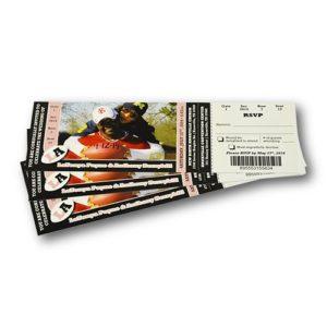 Билеты с перфорацией фото
