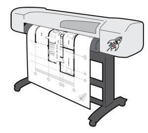 Печать чертежей А2