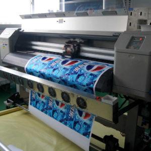 Цифровая печать наклеек на заказ
