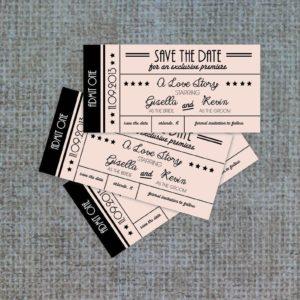 Билеты с нумерацией на заказ