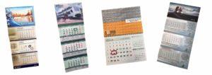 Квартальные календари на 1 пружине на заказ