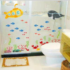 Печать наклеек в ванную комнату