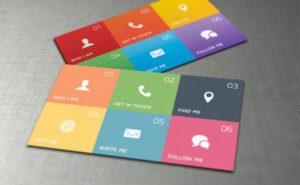 Дизайн креативных визиток на заказ
