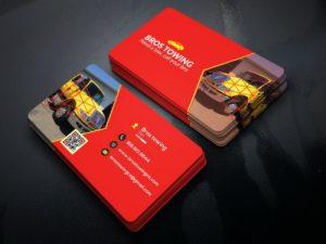 Дизайн визиток грузоперевозок в Москве