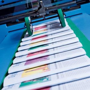 Офсетное изготовление листовок