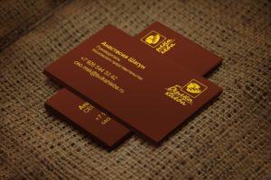 Дизайн визиток корпоративных компаний в Москве