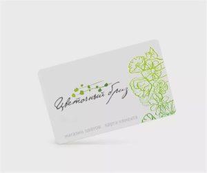 Дизайн визиток цветочного магазина в Москве
