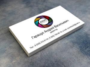 Дизайн визиток директора на заказ