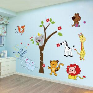 Изготовление наклеек в детскую комнату