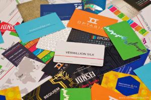 Разработка дизайна визиток на заказ