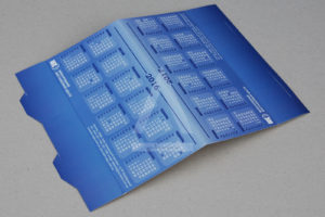 Изготовление самосборных календарей-домиков